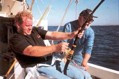 Nouveau lot : 3 demies journées de pêche des emissoles (requins)