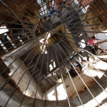 l'éscalier de la cathedrale trogir