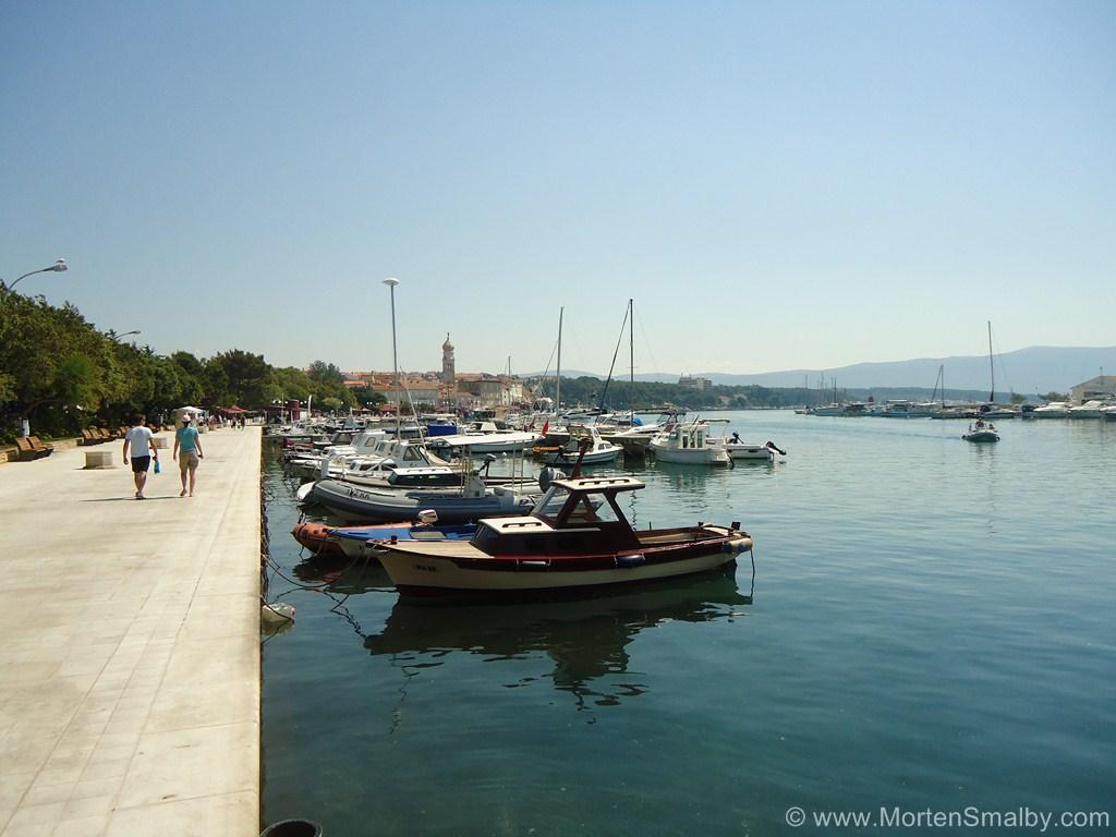 promenade-au bord de la mer - krk
